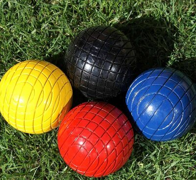 Garden Games 12oz wooden croquet balls
