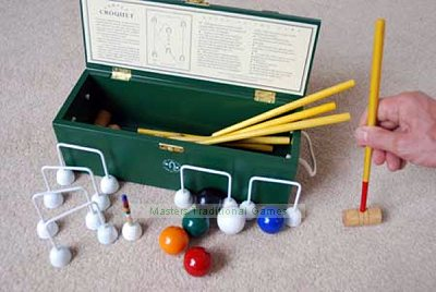 Uber Miniature Carpet Croquet Set