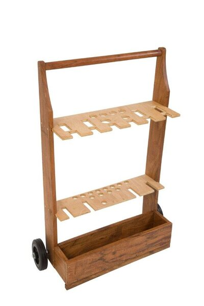 Uber Croquet Trolley Stand (for 4 and 6 player croquet sets)