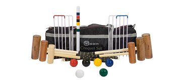 Uber 6 player Pro Croquet Set in a bag