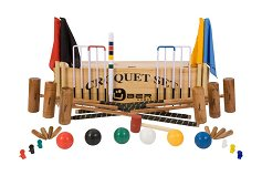 Uber 6 Player Pro Croquet Set