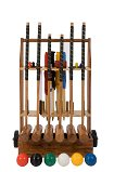 Uber 6 Player Pro Croquet with stand