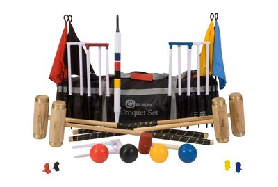 Uber Executive Croquet Set in a bag