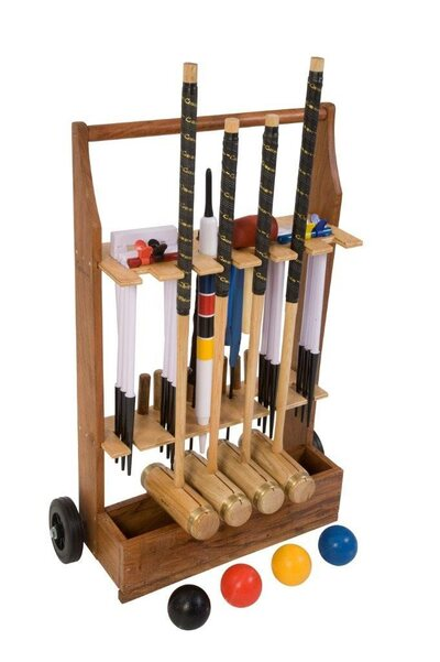 Uber Executive Croquet Set with a stand