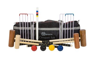 Uber Family Croquet Set in a bag