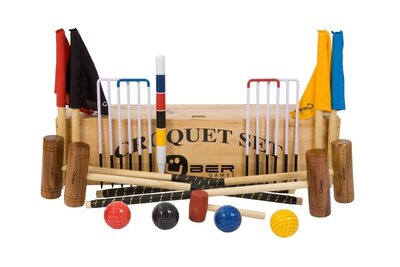 Uber Garden Croquet Set in a bag