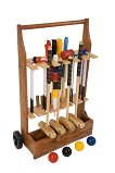 Uber Junior Executive Croquet Set with a stand