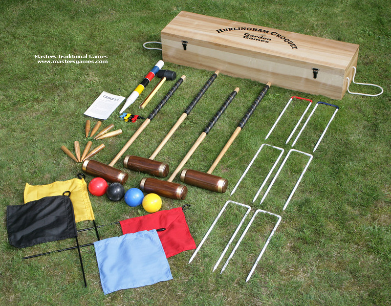 Croquet Game : Pics Photos - Croquet Set Garden Game