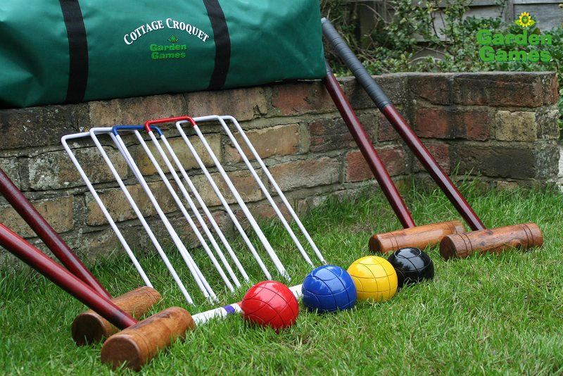 Click Any Picture For A Large Version Garden Cottage Croquet Set