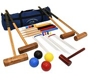 Garden Games Longworth Croquet Set (4 player in a bag)