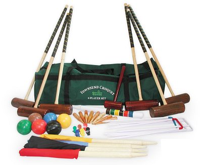 Garden Games Townsend Croquet Set (6 player in a bag)