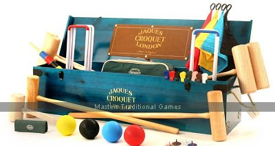 Jaques Olympic 8 player Croquet Set