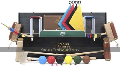 Jaques Ascot 6 Player Croquet Set