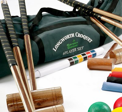 Garden Games Longworth Croquet Set (6 player in a bag)