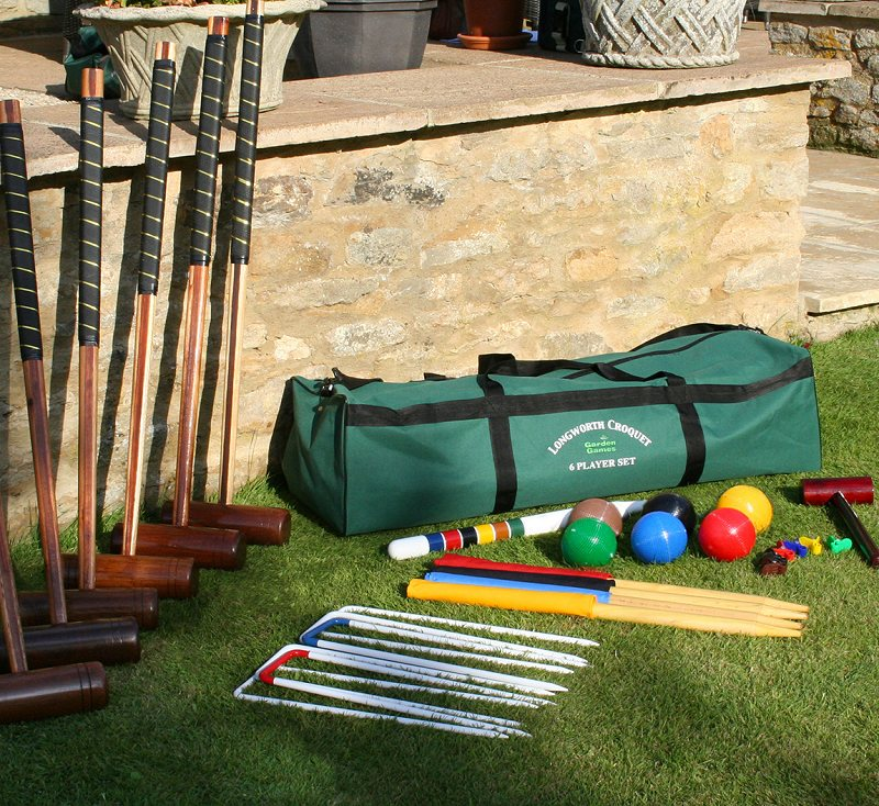Click Any Picture For A Large Version Garden Longworth Croquet Set