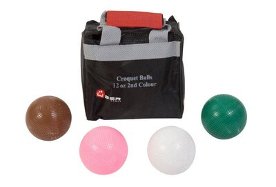 Uber Set of 4 Croquet Balls (12oz composition - 2nd Colours)