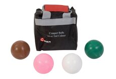 Uber Games Set of 4 Croquet Balls (composition, 16oz) - 2nd Colours