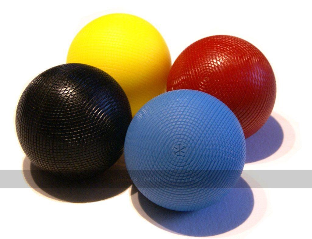 Garden Games Set of 12oz Composition Croquet Balls 1st Colors