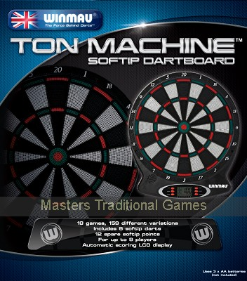 Winmau Softip Electronic Dartboard set