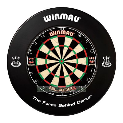 Winmau one-piece Dartboard surround (Black)