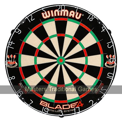 Winmau Blade 4 Dual-core Dartboard with Rota-lock