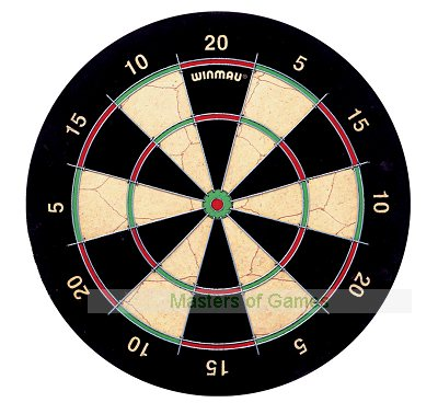 Winmau East London Fives Darts Board (narrow trebles/doubles)