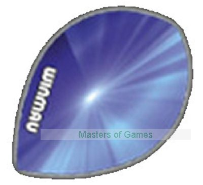 Winmau Pack of 6 Darts Pear Flights