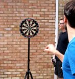 Darts Master Dartboard Stand (dartboard not included)
