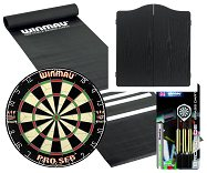 Standard Pub Darts Set - Starter Bundle (Black Cabinet)