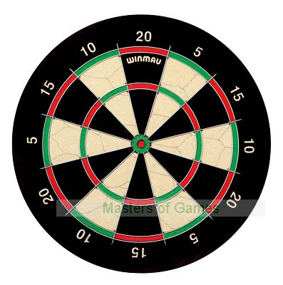 Winmau Ipswich Fives or Wide Fives Darts Board (standard size trebles/doubles)