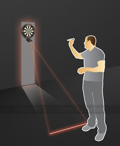 Winmau Darts Laser Oche (throwing line)