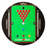 Snooker Darts Dartboard