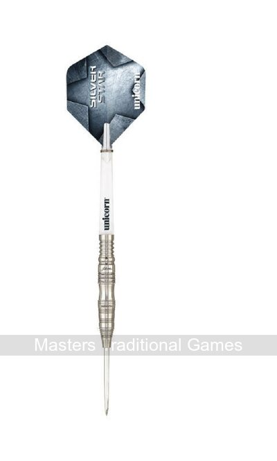 Unicorn Silver Star 90% Tungsten Darts, 21g