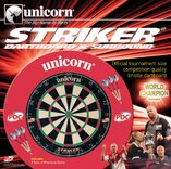 Unicorn Striker Dartboard & Surround Set