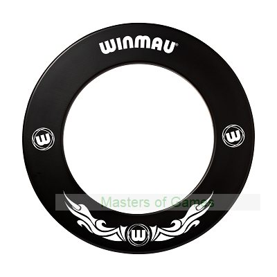 Winmau one-piece Dartboard surround (Black Xtreme)