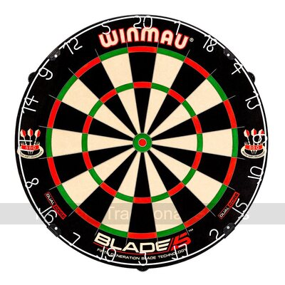 Winmau Blade 5 Dual Core Dartboard with Rota-Lock