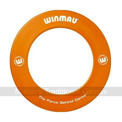 Winmau one-piece Dartboard Surround (Orange)