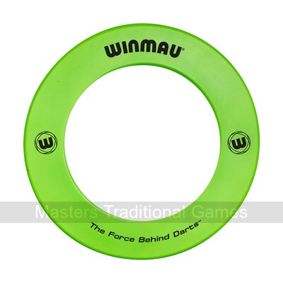 Winmau one-piece Dartboard Surround (Green)