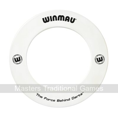 Winmau one-piece Dartboard surround (White)