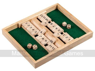 2 Player Shut the Box - 12 numbers