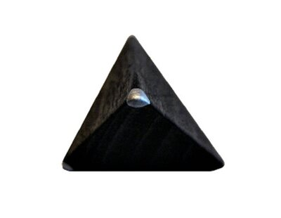 Pyramidal binary die (extra die for Replica Royal game of Ur product code 00K275 only)