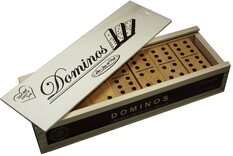Wooden Dominoes Set - Double 6