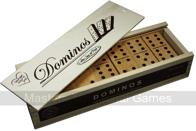 Wooden Dominoes - Double 6