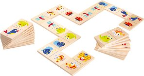 Children's Wooden Dominoes - Animal Favourites