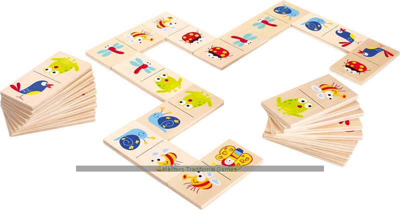 Childrens Wooden Animal Dominoes