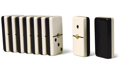 Moldura Double 6 Domino Set