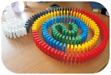 Domino Rally XXL (570 pieces)