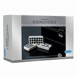 Double 9 Dominoes in Leatherette Box