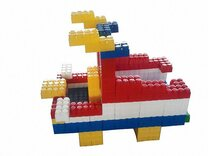 Game Movil Giant Blocks Boat - 192 Pieces