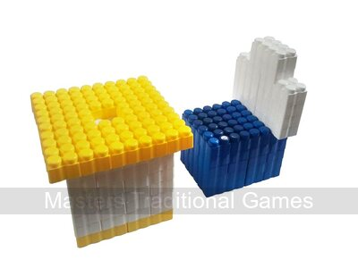 Game Movil Giant Blocks Table and Chair - 97 Pieces